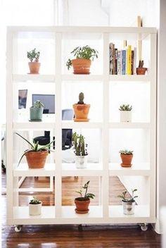 Boekenkast als roomdivider