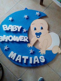 Beby shawer Baby Shower Crafts, Diy Baby Shower Decorations, Baby Crafts, Baby Decor, Juegos Baby Shower Niño, Dibujos Baby Shower, Baby Shower Photos, Baby Shower Themes, Baby Boy Shower