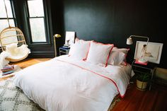 When we finally don't have a rental! - The Coziest Wall Color Is Black