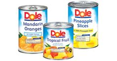 New Savings for Dole Fruit- Save $1.25!