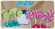 Chocolate Brownie Pops - Birthday Party Favors