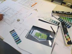 Ore e ore di progettazione per il Cersaie #cersaie2012