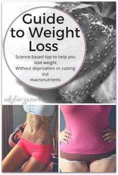 Guía para la pérdida de peso saludable.  No hay dietas o restricciones alimenticias.  El ejercicio y consejos para una alimentación limpia a una vida saludable.