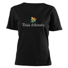 Autism Awareness Shirt | Think Differently & Raise Awareness with a #customTshirt #autismAwareness rushordertees.com
