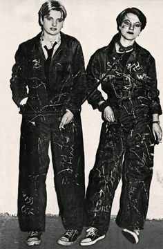 Punks in London, by Ku Khanh, 1977.