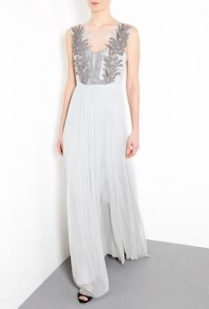 This would be a nice wedding dress for a girl who is OK with rockin' grey. About 1,500 with customs.