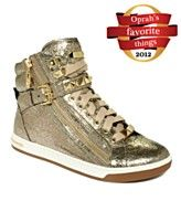 One of Oprah's favorite things, mine too :) MICHAEL Michael Kors Shoes, Glam Studded High Top Sneakers (Oprah's Pick!)
