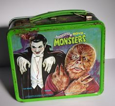 Universal Movie Monsters Metal Lunchbox Aladdin by VaFanGhoul