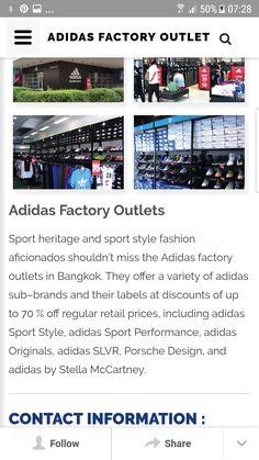 Outlet Sport, Sub Brands, Thailand Travel, Retail Price, Sport Fashion, Bangkok, Thailand Destinations, Sporty Fashion
