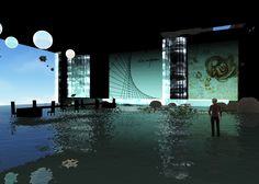 Cloud Party, Create Space, Virtual World, Marina Bay Sands, Flow, To Go, Clouds, Building, Artwork