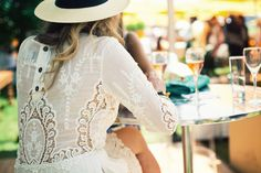 Lace dresses, straw hats, and champagne ... dreaming of summer.