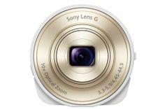 SMART LENS DSC-QX10 BLANC/OR Appareil photo compact sur #SoCloz !