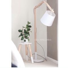 Kmart table and lamp