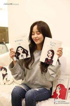 Kim sohyun for love alarm Korean Actresses, Korean Actors, Korean Dramas, Oh Love, Kim Sohyun, Girl Artist, Bts Jungkook, Hair And Nails, Polaroid Film