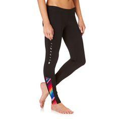 Rip Curl Wetsuit Pants - Rip Curl Womens G Bomb 1mm Sublimated Wetsuit Pants - Black/ Grey