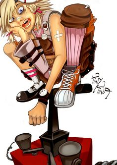 Tiny Tina by ~TaraGraphic on deviantART