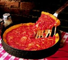 Gino's East, Chicago's legendary #deepdish pizza