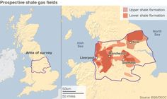 27/06/13 - British Geological Survey estimates there may be 1,300 trillion cubic feet of shale gas present in the north of England