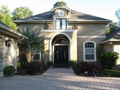Dream Houses: Houston Edition   Black door, Front doors and Window