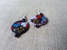 Pretty Floral Earrings Email shenbettridge@gmail.com