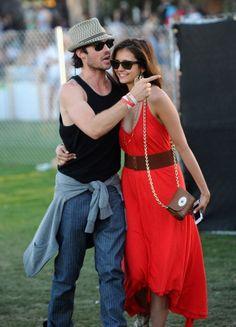 Love Nina Dobrev's Coachella outfit
