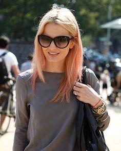 Summer Hair Trend: Candy-Colour. Photo by Anthea Simms #haircolour