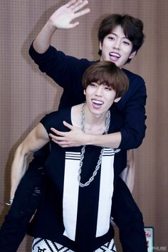 Dongwoo and Sungyeol