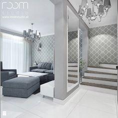 Mieszkanie z akcentami glamour - Salon, styl nowojorski - zdjęcie od ROOM STUDIO