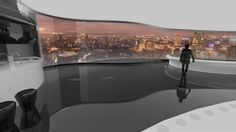 In This 360-Degree Rotating Tower, Everyone Gets to Live at the Top   The Creators Project