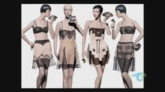 Lingerie. 1920s-Fashion-Recorded-and-Styled - preview of Neal Barrs stunning photographic ode to the 1920s era.