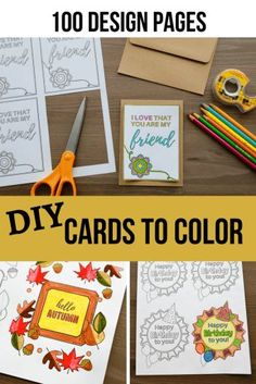 100 Coloring Pages- Digital Coloring Book – Simply September – Diy Poject Ideas Fun Crafts, Crafts For Kids, Amazing Crafts, Diy Pallet Projects, Craft Projects, Project Ideas, Coloring Pages For Kids, Coloring Books, Color Tag