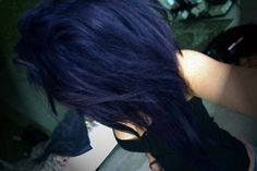 Blue/Black hair