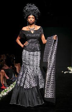 Subira Wahure Official African Couture Blog: LONG DRESS;KITENGE