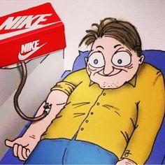 Daily dose of nike #nike #funny #sneaker #deadstock