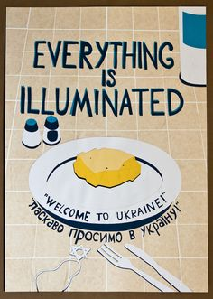 Everything is Illuminated Poster by Adrian Gauci For all the Gogol Bordello and LotR fans