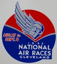 1932 Air Races Decal by Team Civil Air Patrol, via Flickr