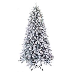 Holiday Time 7.5ft Pre Lit Winter Frost Pine Tree w/450 Clear Lights Holiday Time http://www.amazon.com/dp/B00ODH7K0O/ref=cm_sw_r_pi_dp_7XyUub0ZP2Y7N