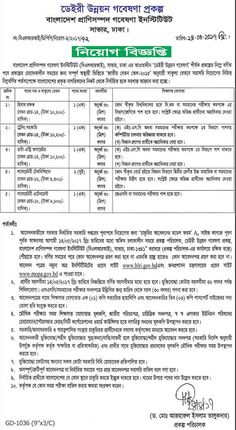 Job Circular For Bangladesh: Bangladesh Livestock Research Institute Job Circul...