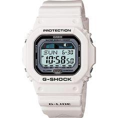 G-Shock G-Lide GLX5600-7CR White Digital Watch