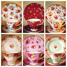 Royal Albert Old Country Roses collectable teas vintage china :)