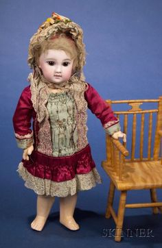 Second Series Bisque Portrait Doll by Jumeau | Sale Number 2383, Lot Number 656 | Skinner Auctioneers