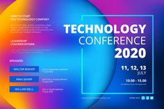 Abstract technology conference template Free Vector - Electronics gadgets,Electronics apple,Electronics for teens,Electronics organization,Electronics projects Technology Posters, Educational Technology, Technology Apple, Vector Technology, Technology Hacks, Futuristic Technology, Technology Design, Medical Technology, Computer Technology