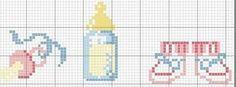 graficos em ponto cruz para bebe - Pesquisa Google