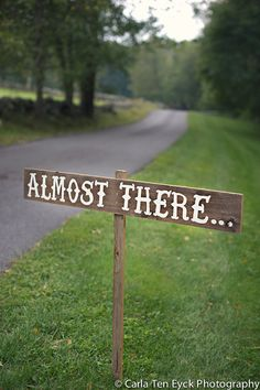 Almost There Sign Hand Painted Signs Fabulous by TRUECONNECTION, $38.00