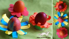 лесни поставки за Великденски яйца