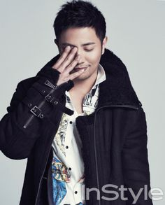 Jin Goo - InStyle Magazine January Issue '13