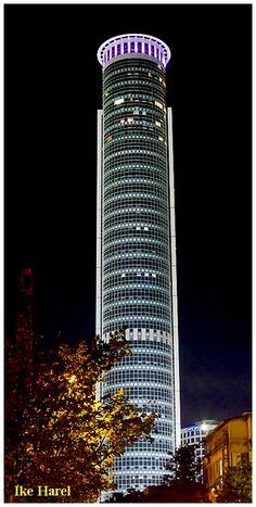 Aviv Tower by Night - Ramat Gan, Tel Aviv