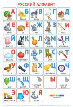 All 33 letters, only contemporary and real objects, clean and original design without any religious or political influence, suitable for childs and adul. Russian alphabet poster by Murtiki project (v Russian Language Lessons, Russian Lessons, Russian Language Learning, Language Study, Alphabet Poster, Alphabet A, Alphabet For Kids, Alphabet Stickers, Toddler Learning