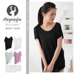 Buy 'Maymaylu Dreams – Scoop Neck Plain Tee' with Free Shipping at YesStyle.ca. Browse and shop for thousands of Asian fashion items from Taiwan and more!