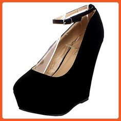 e8f11c755c70 Delicacy Trendy-29 Women s New Hot Fashion Wedge Platform Pumps Sexy Heels